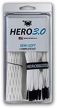 ECD Lacrosse Hero 3.0 Complete Kit Lacrosse Mesh and HeroStrings