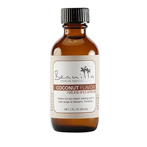 - Natural Coconut Flavor - 2 fl oz