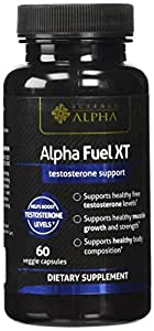 ALPHA FUEL XT TESTOSTERONE SUPPORT 60 VEGGIE CAPSULE NEW
