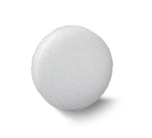 FloraCraft Styrofoam Disc 1.9 Inch x 7.8 Inch White