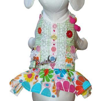 (Cha-Cha Couture Darlin' Daisy Dog Harness Dress)