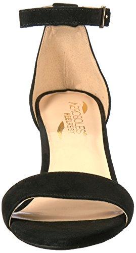 Satin Laminate Dress Aerosoles Pump Black Women 71nWPFX