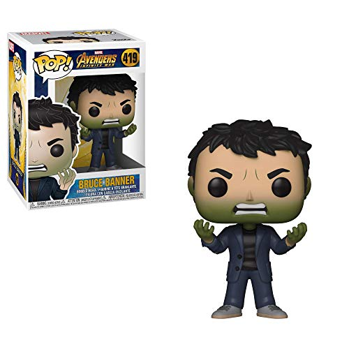 Funko POP! Marvel: Avengers Infinity War - Bruce Banner with Hulk Head