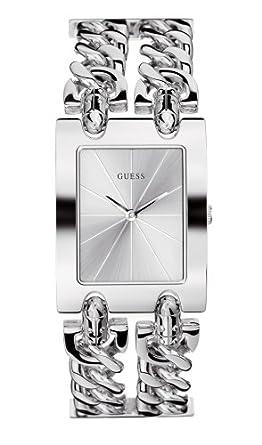 Damenuhren silber guess  Guess Damenuhr Mod.Heavy Metal 80305L1: GUESS: Amazon.de: Uhren