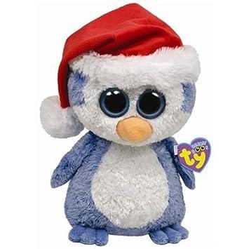 Amazon.com: Ty Beanie Boos Buddies Fairbanks - Penguin (BBUD ...