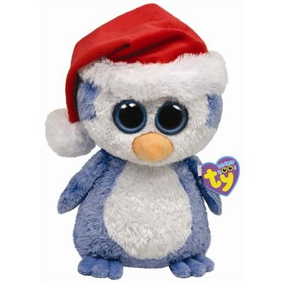 78aaf05f0a6 Amazon.com  Ty Beanie Boos Buddies Fairbanks - Penguin (BBUD)  Toys ...