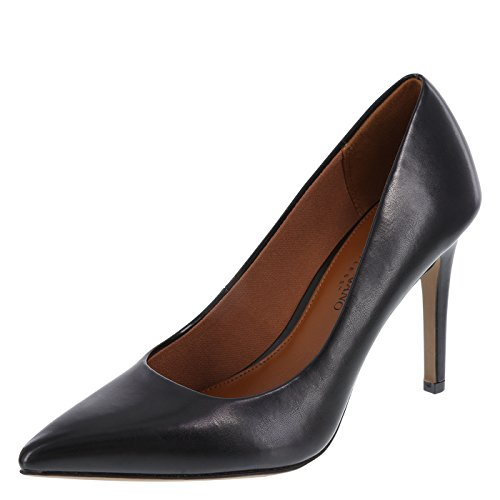 Christian Siriano for Payless Smooth Black Women's Habit Pointed Pump 8 Wide by Christian Siriano for Payless