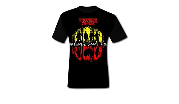 POWLS Men 3D Printed Camiseta Stranger Things - Friends Dont Lie Fathers Day Short Sleeve T-Shirt Tee   Amazon.com