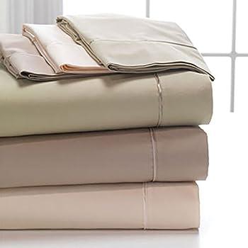 DreamFit Degree 5 Bamboo Rich Split King Sheet Set for Adjustable Beds - Sand Color
