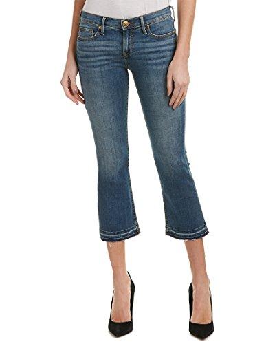 True Religion Womens Becca Summer Nights Bootcut Crop, 27, (Womens True Boot Jean)