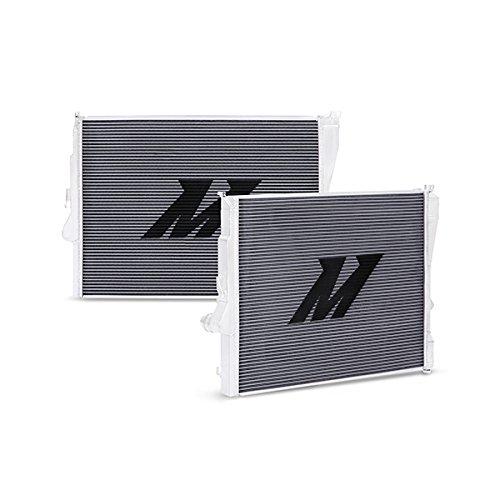 Radiator Performance Manual Aluminum (Mishimoto MMRAD-E46-323 BMW E46 Non-M Performance Aluminum Radiator, Manual, Silver)