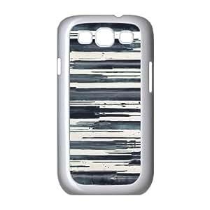 Zachcolo Grunge Samsung Galaxy S3 Cases Grunge Pattern Hardshell for Girls, Samsung Galaxy S3 Case Cute, [White]