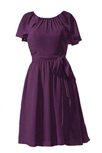 Daisyformals Robe De Soirée Courte Millésime Robe De Demoiselle D'honneur W / Manchon De Flottement (bm1462) # 2-byzance