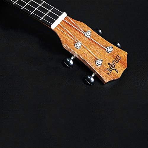 Mimagogo Soprano Ukulele Uke Hawaii guitarra Sapele 4 cuerdas de ...
