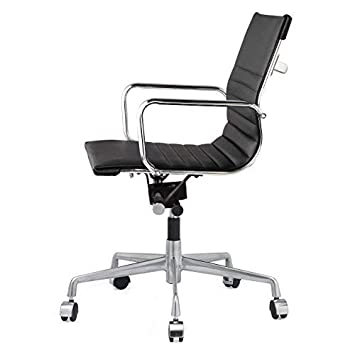 Meelano 348-BLK 348-BLK-N Office Chair, One Size, Black