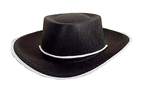 (Jacobson Hat Company Child's Permafelt Cowboy Costume, Black,)