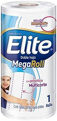 Elite MegaRoll Toallas De Cocina 1 Rollo 160 Hojas Dobles