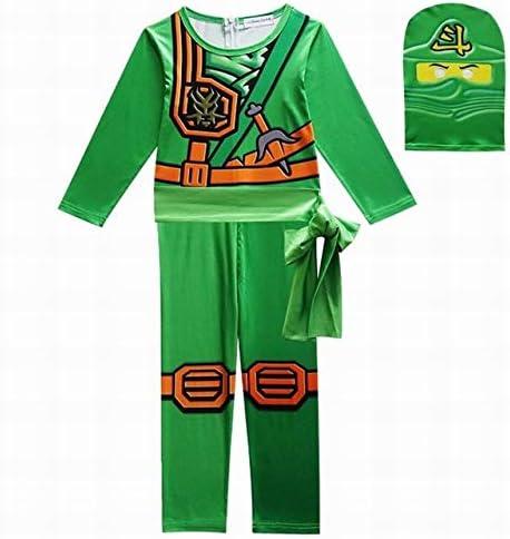 GJBXP Disfraz de Ninjago para niños Monos de cosplay para niños ...