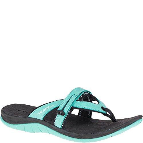 Merrell Damen Sirene Flip Q2 Athletic Sandale Türkis