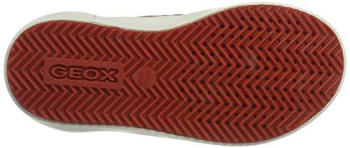 Geox J Alonisso Boy a, Zapatillas Para Niños Marrón (TAUPE/ORANGEC6048)