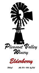 2012 Pleasant Valley Elderberry Wine 750 mL
