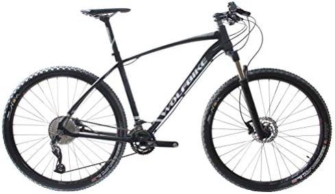 WOLFBIKE LINKTRO 2.0 29GX 2X11 T18 Bicicleta, Adultos Unisex, Negro Mate, 18