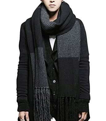 Yyx Winter Fashion Womens Men Warm Soft Knitted Wool Long