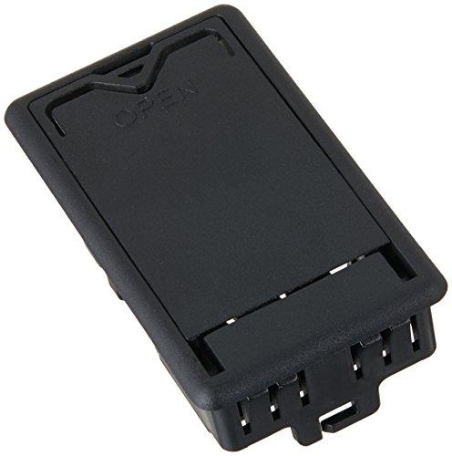 Dunlop ecb244bk caja de la batería, Negro