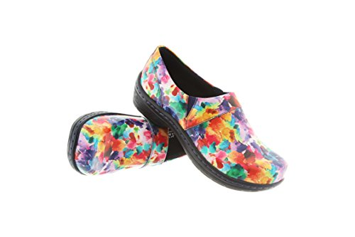 Klogs New Women's Mission Clog Watercolor Patent 9.5 by Klogs