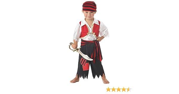 Forever Young Boys Disfraz de Pirata Unisex Girls Toddler Kids ...