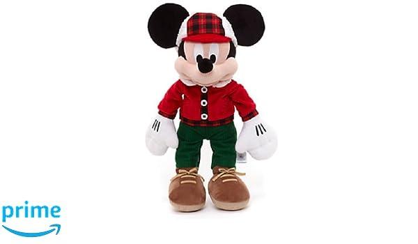 Disney partager la Magie de Noël Mickey Mouse Medium 40 cm en peluche: Amazon.es: Juguetes y juegos