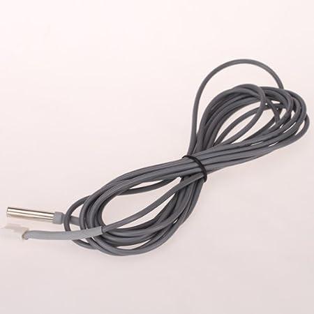 Capteur de temp/érature DS18B20 Sonde de temp/érature Gris