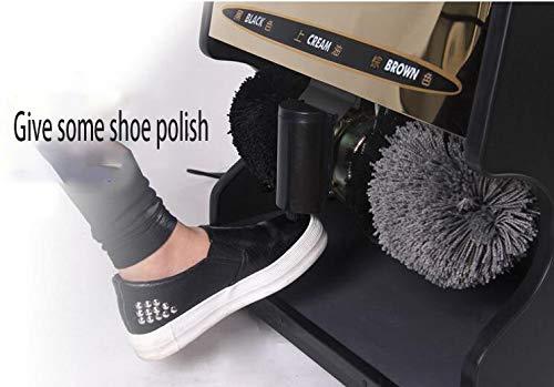 Qi Peng Shoe Polisher-Automatic Induction Shoe Polisher, Household Electric Shoe Polisher/Hotel Business Shoe Polisher Automatic Shoe Polisher (Color : G, Size : 1#) by Qi Peng-/Automatic shoe polisher (Image #4)
