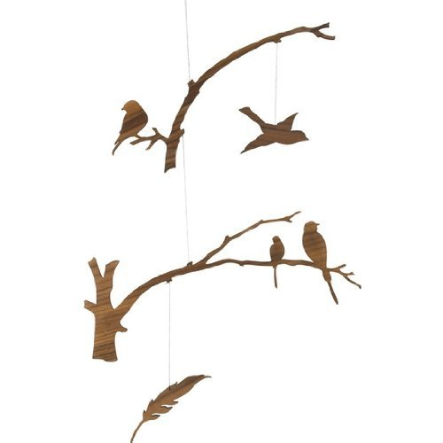 Birds of a Feather Modern Mobile [並行輸入品]   B01BBOUGY8