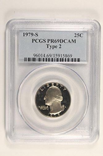 1979 S Washington Type 2 Quarter PR69 PCGS DCAM