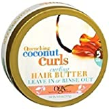 Ogx Quenching Coconut Curls Curling Hair Butter 6.6oz (2 Pack)