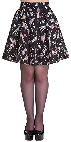 Hell-Bunny-Zombie-Diner-Skirt