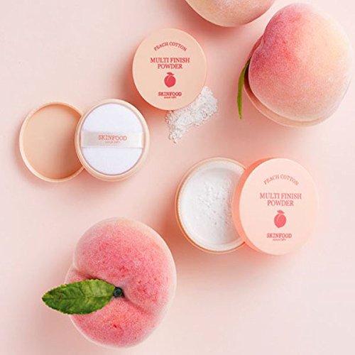 SKINFOOD Peach Cotton Multi Finish Powder, 15 Gram