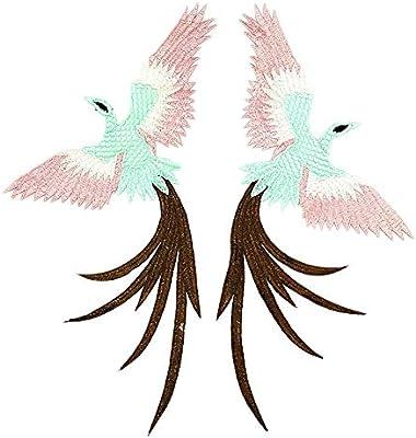 Dosige. Combinación de Bordado de Aves Parche Parche Parche ...