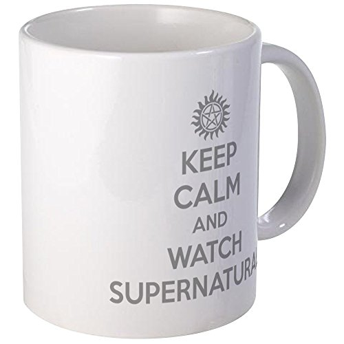 CafePress Watch Supernatural Unique Coffee