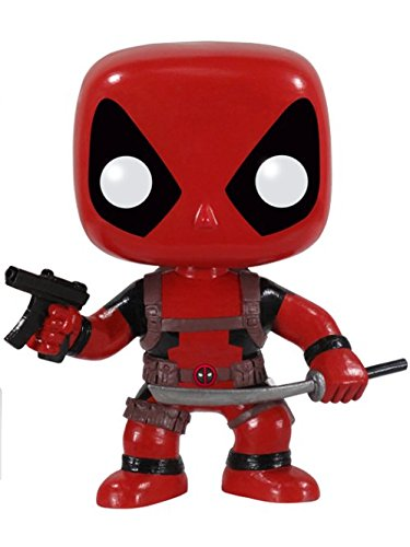 (POP Marvel: Deadpool Vinyl Bobble-head Figure)
