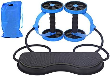 Mntins Roues de Fitness Rouleau Elastique R/ésistance Musculaire Abdominaux Corde de Traction pour Entra/înement Exercice Maison