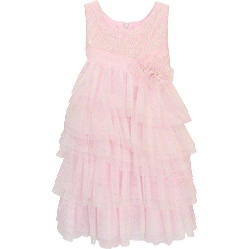 isobella-chloe-baby-girls-pink-fairy-princess-a-line-sleeveless-dress-9m