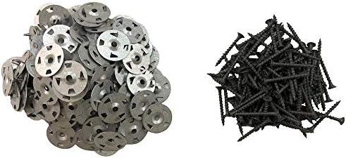 Durabase - Juego de tornillos y arandelas para mampara de ducha (120 piezas): Amazon.es: Bricolaje y herramientas