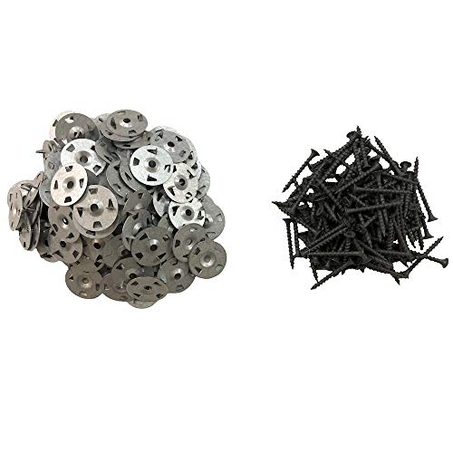 Durabase Backer Board Screw and Washer Pack (120-Piece) for Shower Underlayment