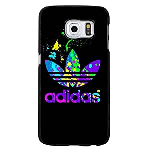 Adidas Cell Phone Case Colorful Fancy the Logo of Adidas Durable Cover Case for Samsung Galaxy S6 Edge Plus
