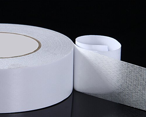 Double Sided Carpet Tape 2'' x 30 Yard for Rugs Mats Pads Runners Anti Slip Non Skid Technology Indoor Gripper Tape Double Sided Adhesive Works on Any Floor Grips Hardwood, Tile, Laminate Floor