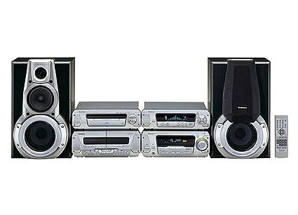 Technics SC de EH 560 Amplificador Sistema de sistema de sonido compacto con dos altavoces