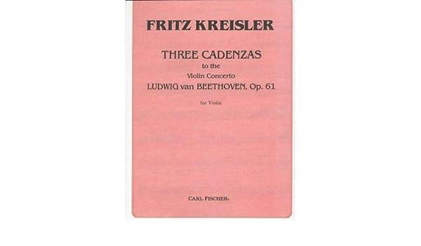 Beethoven Kreisler Cadenza Pdf
