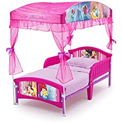 Delta Children Canopy Toddler Bed, Disney Princess